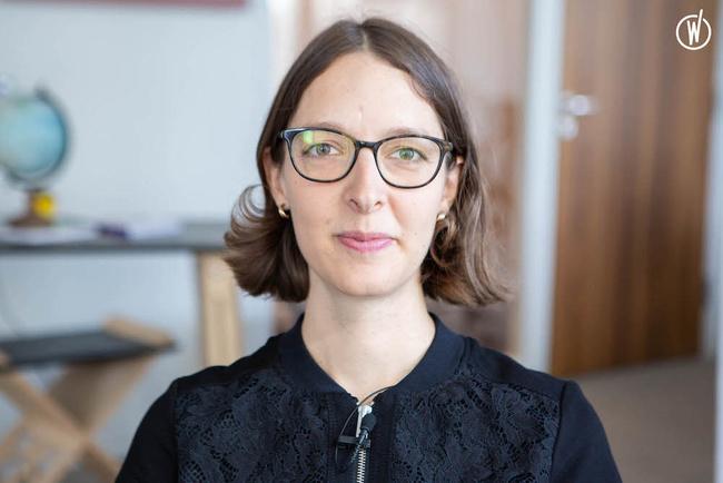 Rencontrez Camille, Chef de projet SI - EDF