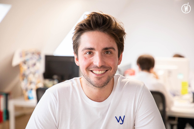 Rencontrez Augustin, Co fondateur - Wavy