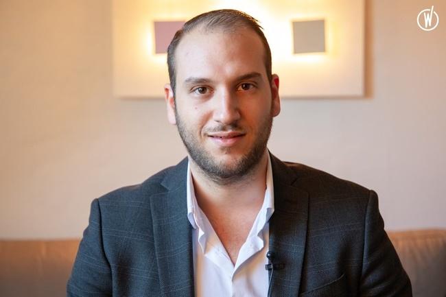 Rencontrez Simon Bensaid, Chargé de clientèle construction  - SPVIE Assurances