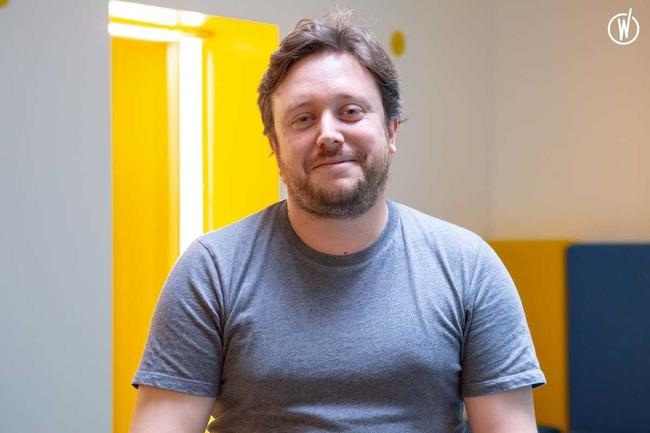 Rencontrez Benjamin, Chef de produit - Oxeva