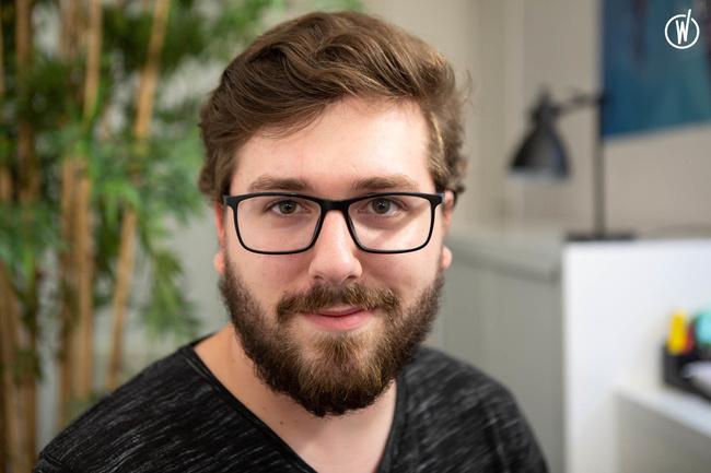 Rencontrez Gaetan, Lead Developpeur - Olystic