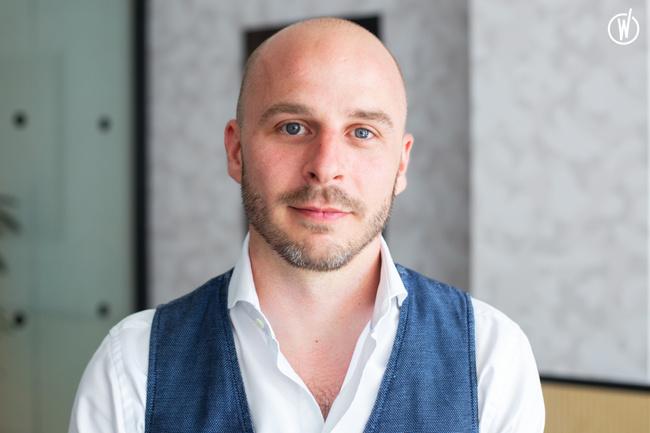 Rencontrez Olivier, Co-Founder / CEO