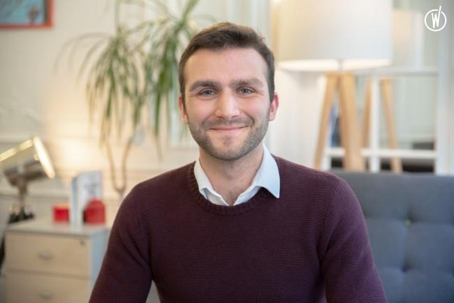 Rencontrez Valentin, Analyste chargé du développement - LSF Energie