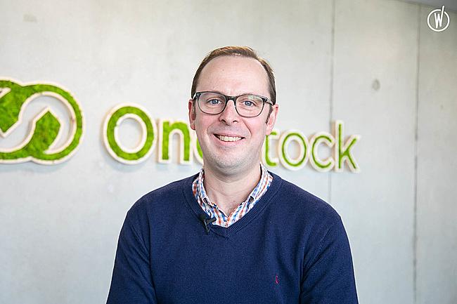 Rencontrez Andy, Commercial UK - OneStock