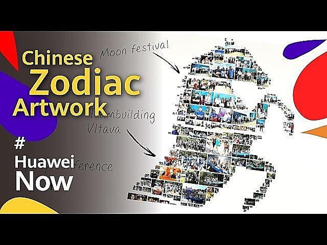 Chinese Zodiac Artwork - Huawei Technologies Czech
