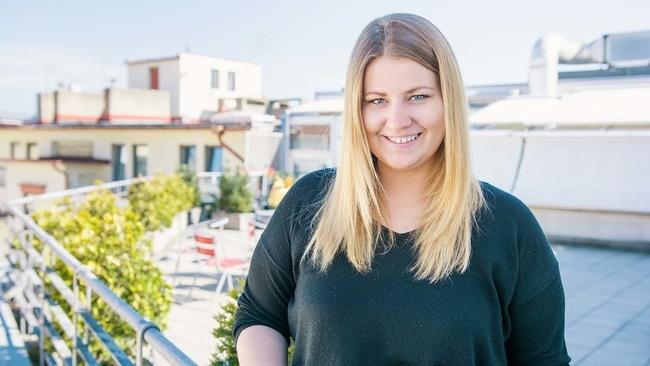 Bára Hercíková, Proud Art Director - Proudly