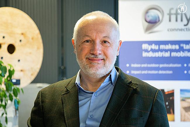 Rencontrez Olivier, CEO - ffly4u