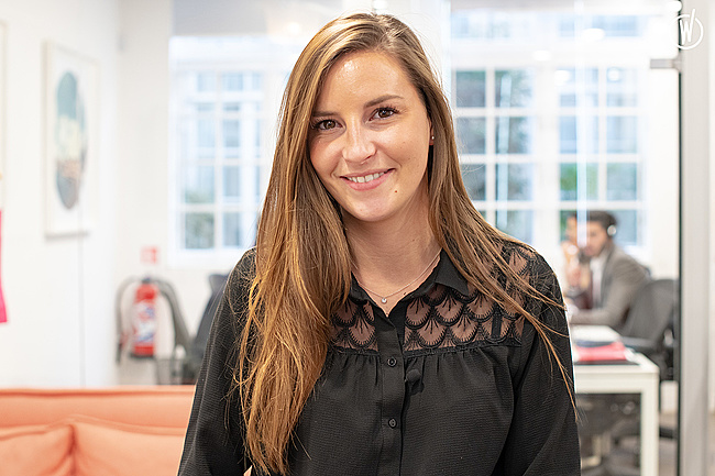 Rencontrez Margaux, Sales Coordinator - EF Education First