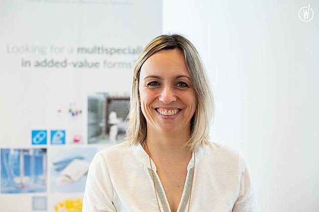 Rencontrez Alexandra, Direction projets / Business Développement - Groupe Synerlab