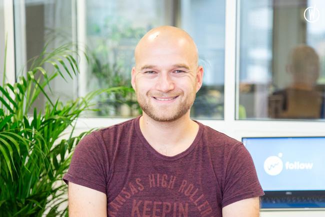 Rencontrez Grégory, Developpeur - Follow