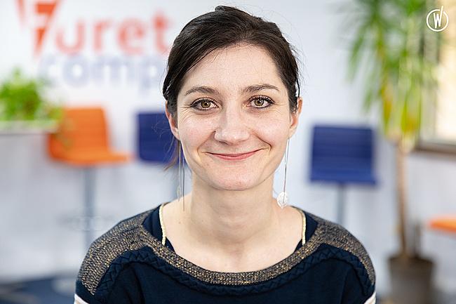"""Rencontrez Lucie """"Fur'Edito"""", Responsable Communication et Marketing - Furet Company"""