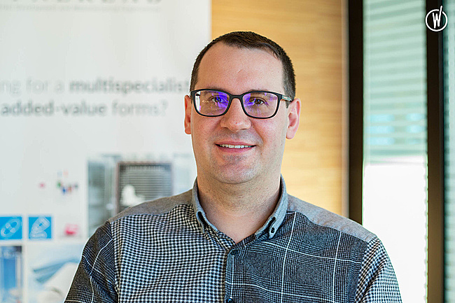 Rencontrez Frédéric, Directeur technique/ Responsable Excellence Opérationnelle  - Groupe Synerlab